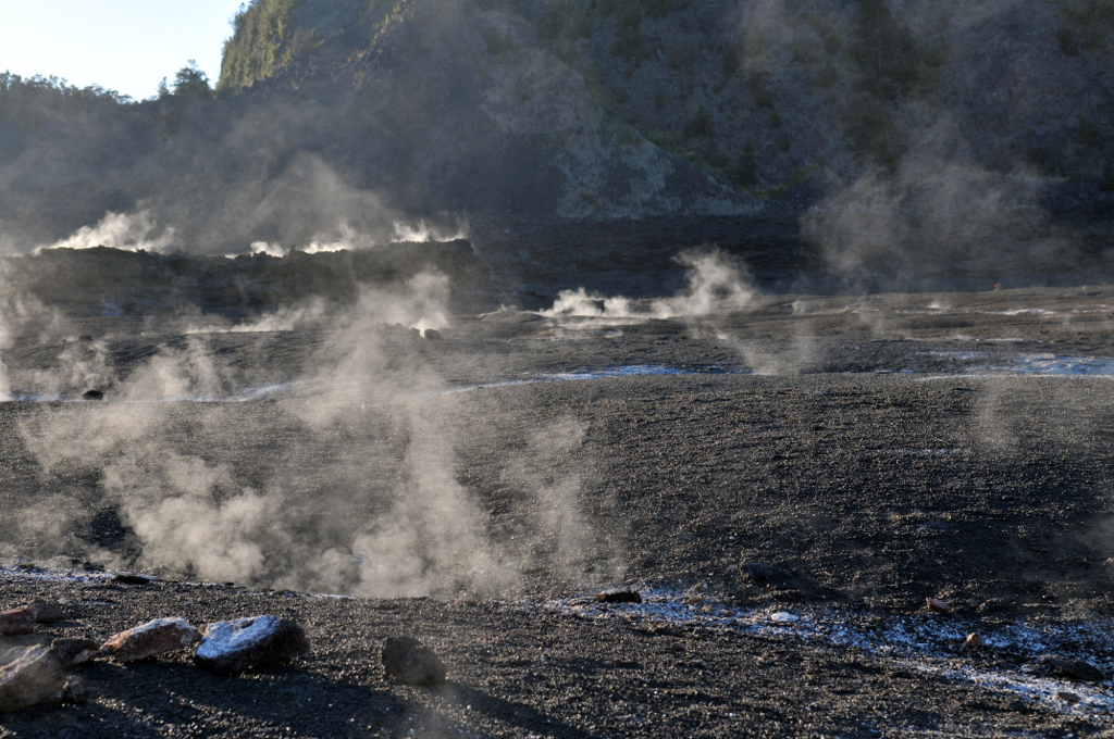 Fumaroles in Kilauea