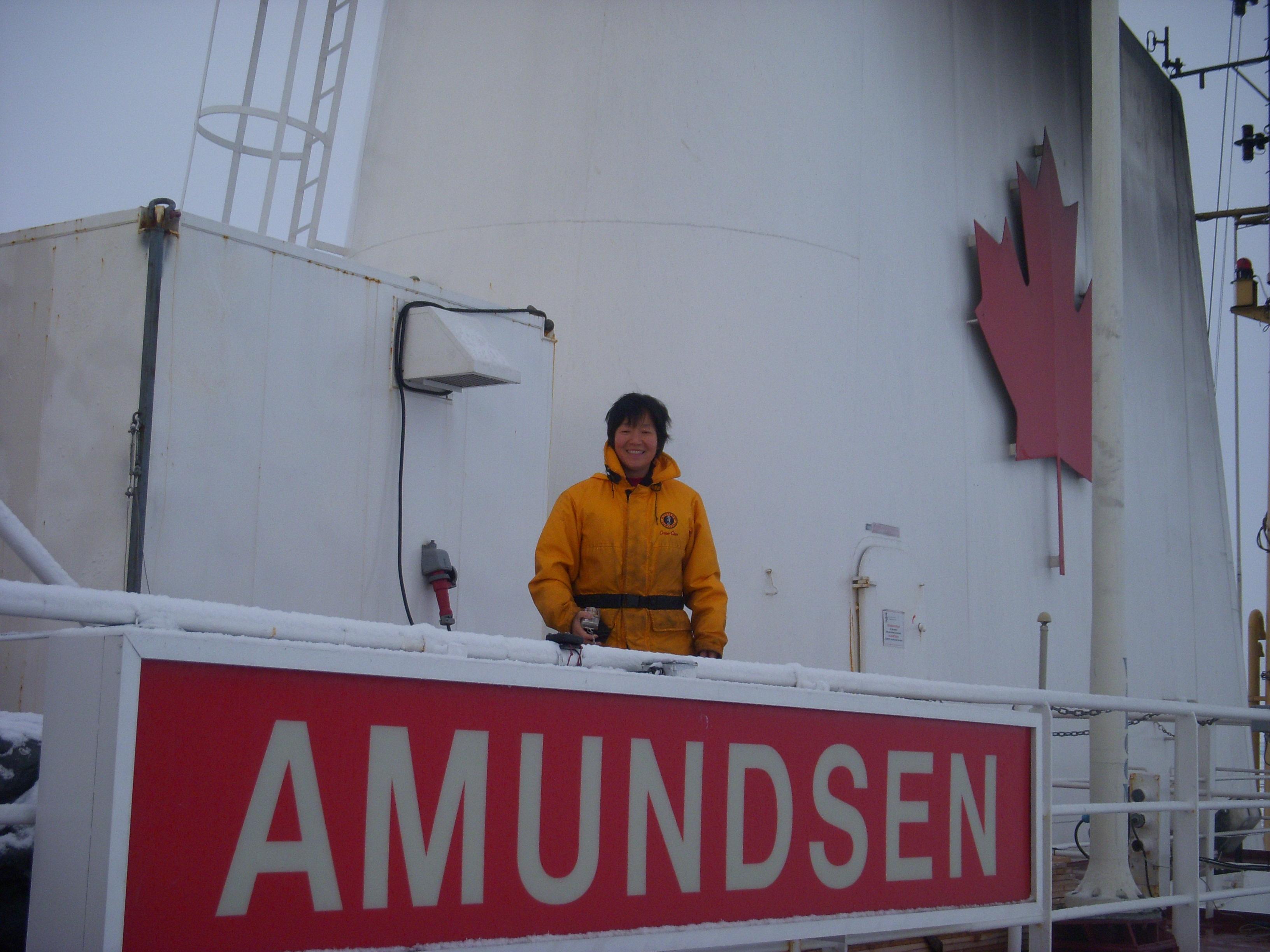 Amundsen Oct 2009